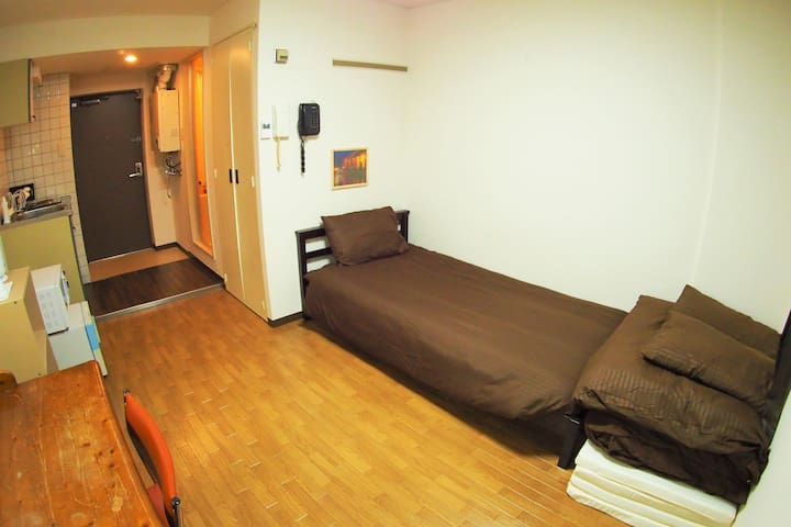 Living and bed room