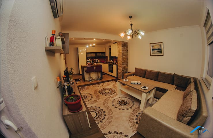 Two bedrooms apartment - near Center of town
