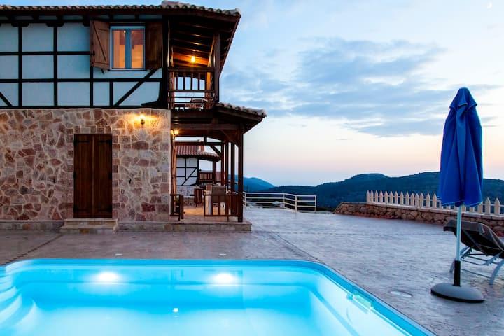 Villa Minuartia With Private Pool &Gorgeous Views