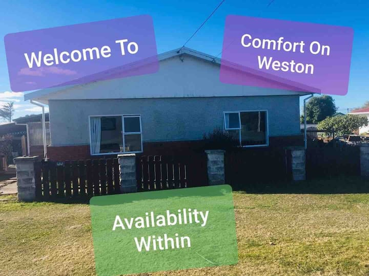 #Comfort on Weston##.  **UNLIMTED WIFI* *book now*