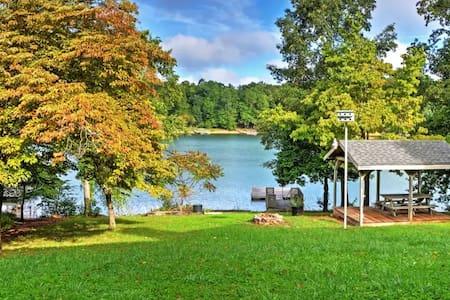 4BR Hayesville House w/Serene Lake Views! - Hayesville - House