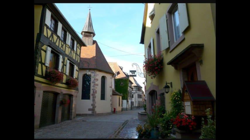 Studio neuf 40m², proche randonnée et Colmar - Soultzbach-les-Bains - Lägenhet