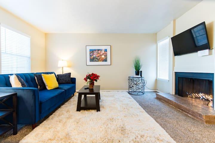 N.  Dallas - Richardson lovely  2 bedroom stay!!!
