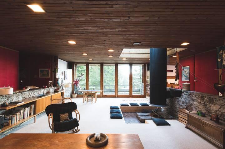 Chalet nelle Dolomiti: villa d'autore