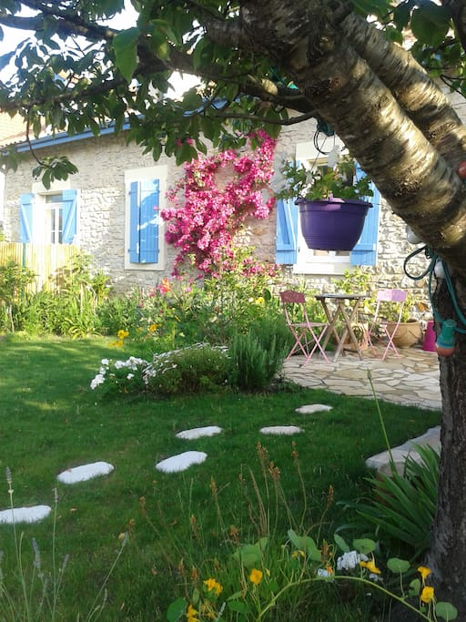 Maison avec jardin et piscine dans quartier calme - Location maison piscine biarritz ...