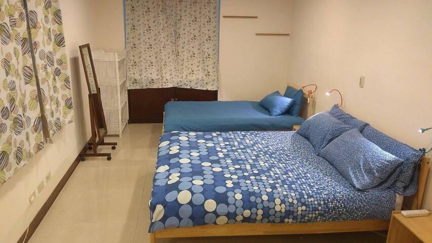 雙人雅房/Spacious Bedroom