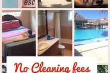 Cocotal DR Paradise: NO Cleaning FEES-Private room