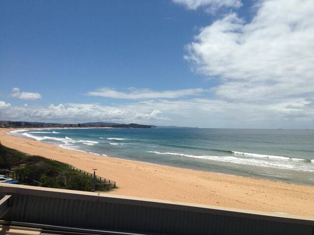 Bright and sunny beachside unit - Collaroy - Appartement
