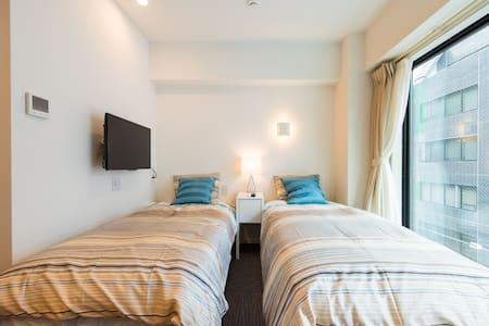 Luxury apt 2 min from sta. w/wifi - Minato-ku - Apartmen