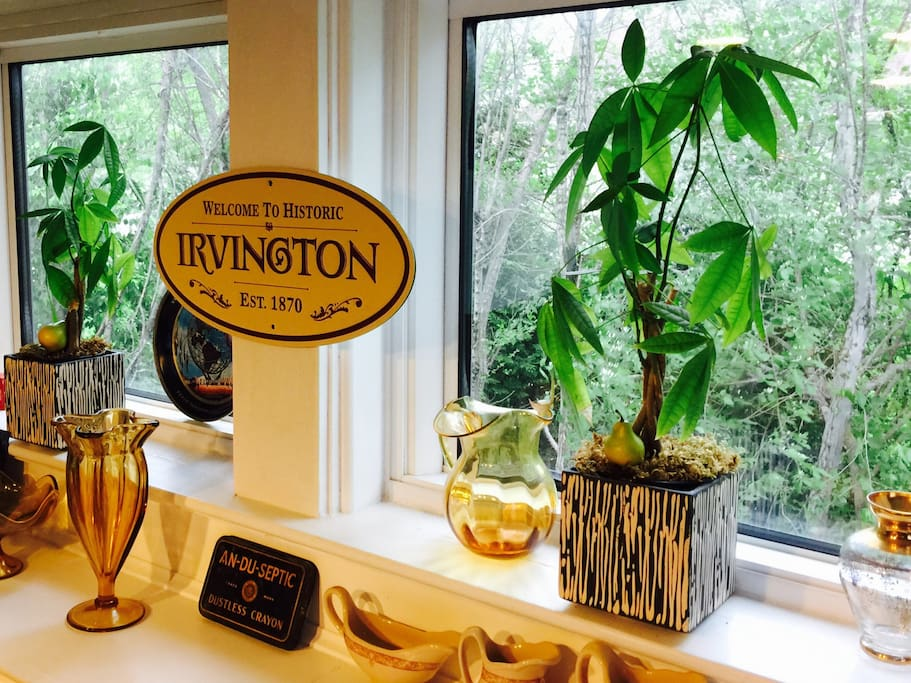 Welcome to Historic Irvington! I highly recommend looking it up as it's a wonderful little community just moments from down town Indy! We provide menus for our wonderful local restaurants.