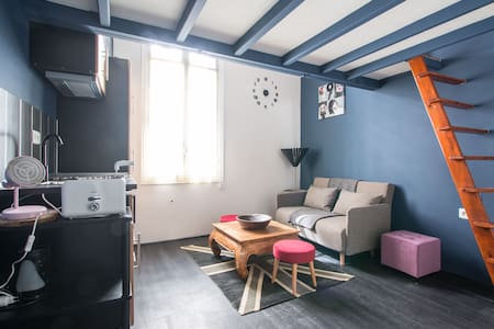 Studio avec mezzanine proche mer et Monaco - Roquebrune-Cap-Martin - Apartment