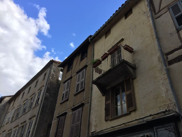 Medieval - With gorgious view - Saint-Antonin-Noble-Val - Apartamento