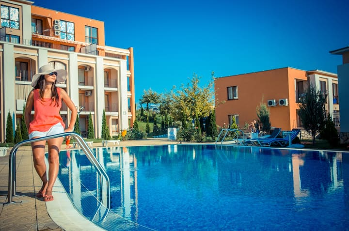 Visit Sunny Beach Katerina Sea&Pool View Studio