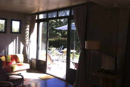 maisonnette contemporaine avec piscine et jardin - Bidart - House