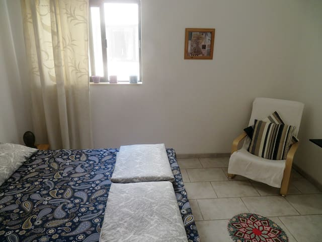 central double room in front of sliema beach