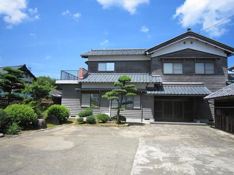 "Experience ""Japanese Green Tourism"" in a farm inn"