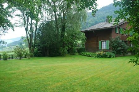 Classic House on Lake Ägeri, hosts up to 7 people!