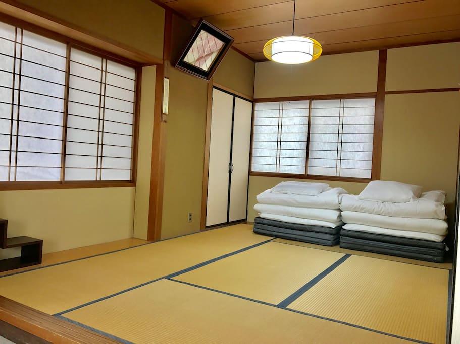 "Japanese ""futon"". Very cozy!"
