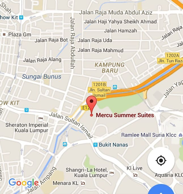 Walking distance to Bukit Nanas Monorail, LRT Dang Wangi, KLCC, KL Tower and numbers of tourist attraction area which are reachable by just walking only.