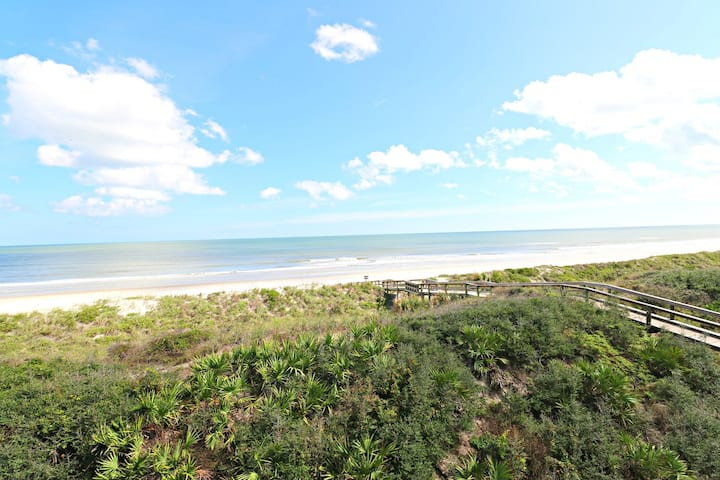 Amazing Views from Second Floor Direct Oceanfront Condo!  Windjammer 212