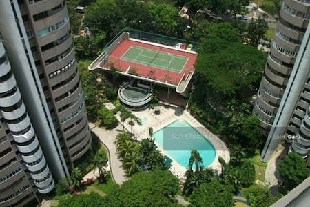Luxury Condo Master Bedroom In Central Tiong Bahru - Singapore - Condominio