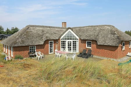 Classic Holiday Home in Ringkøbing with Swimming Pool