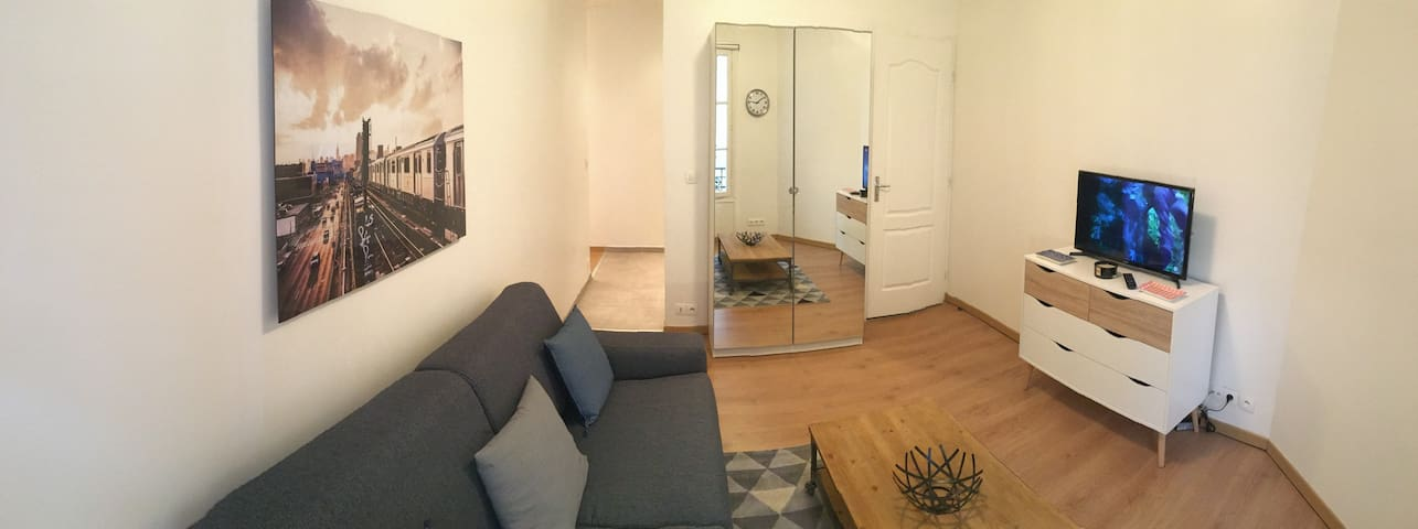 Cosy studio near La Défense