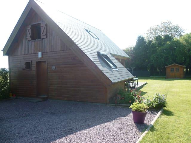 maison en bois - Tilly-sur-Seulles - Chalupa