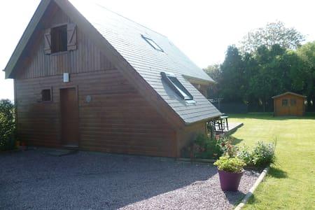 maison en bois - Tilly-sur-Seulles - Chalet