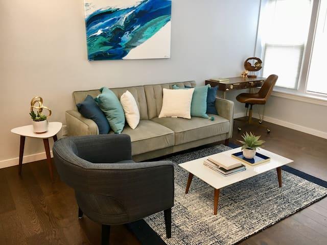 Newly Renovated Modern U. City/Clayton Apartment!
