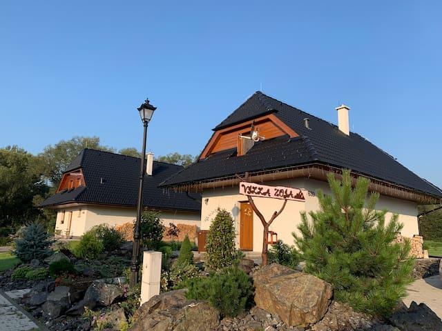 Vila Zoja private accomodation with panoramic view