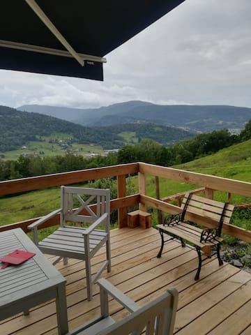 Sauna,vue,calme,équitation, hautes Vosges