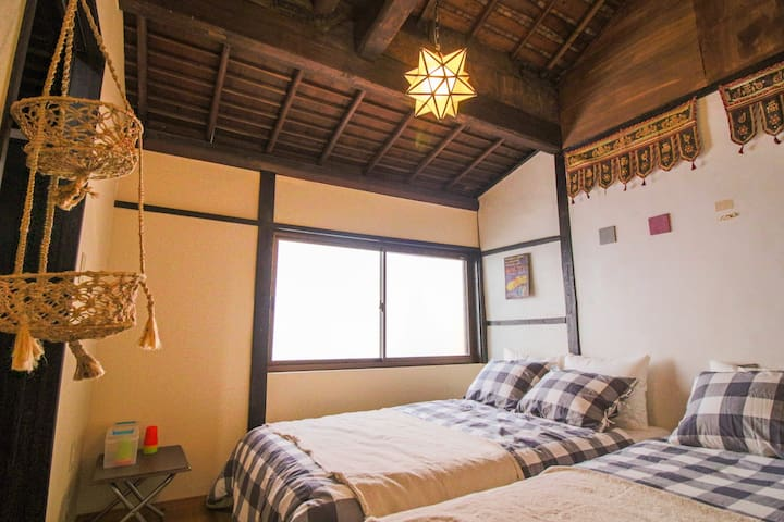 Traditional Japanese style guest house - Moon room