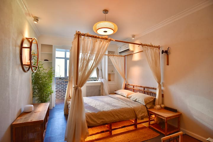 SanlitunZen bamboo forest high quality room