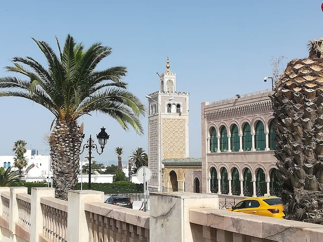 Quiet apartment located in the heart of Tunis