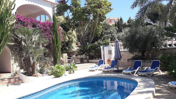 Casa Callas, Moraira, apartemento/ piscina comunal