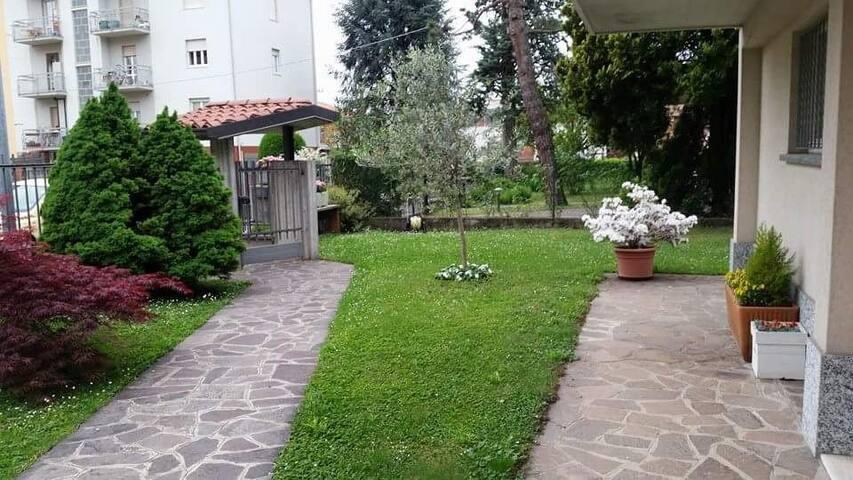 Splendido appartamento immerso nel verde.