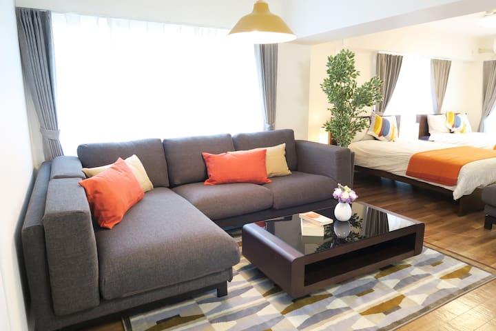 【70㎡】 Large Living room/Unlimited Pocket wifi★#5