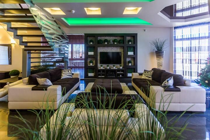 Шикарный дом для любителей домашнего уюта