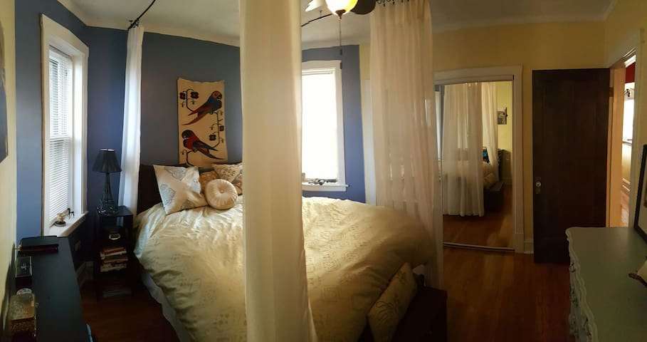 Charming Bedroom in West Ridge - Chicago - Huoneisto