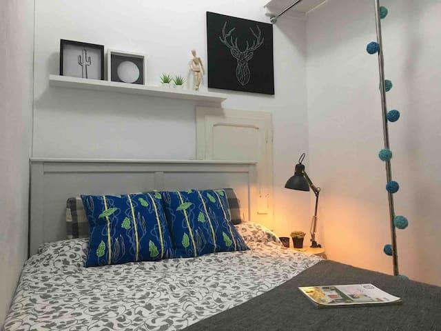 Cozy & lovely Room Certer Bcn.