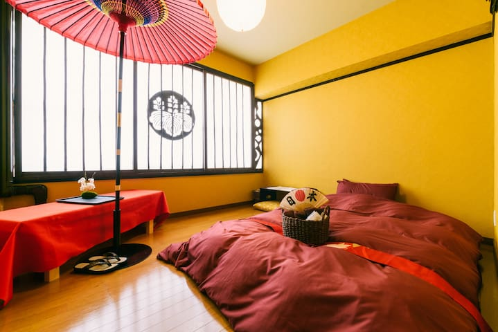 ①Toyotomi Hideyoshi Room(Private )1~2persons