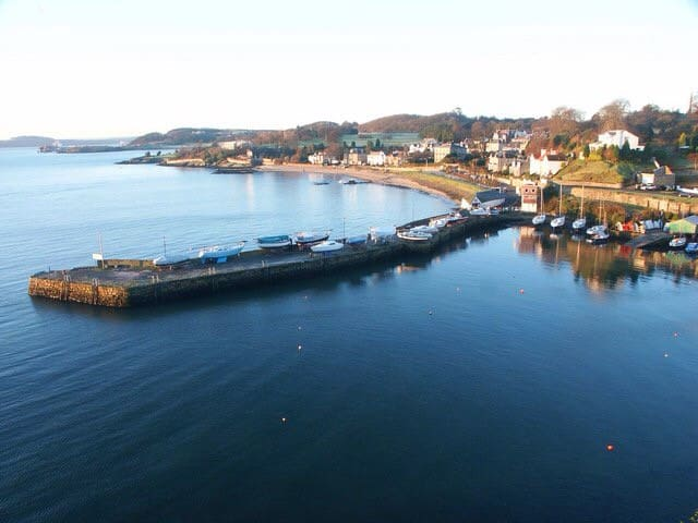 Pretty coastal village - Aberdour - Casa
