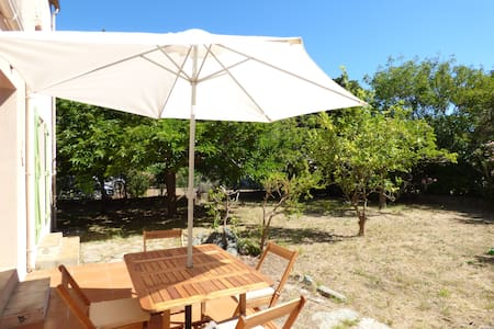 Quiet house with garden at 5 minutes from the port - Haute-Corse - Haus