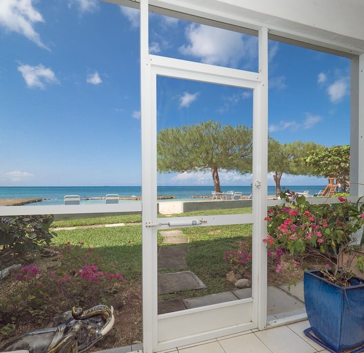Work Remotely in SMB Beach Front 2bed 2bath Condo