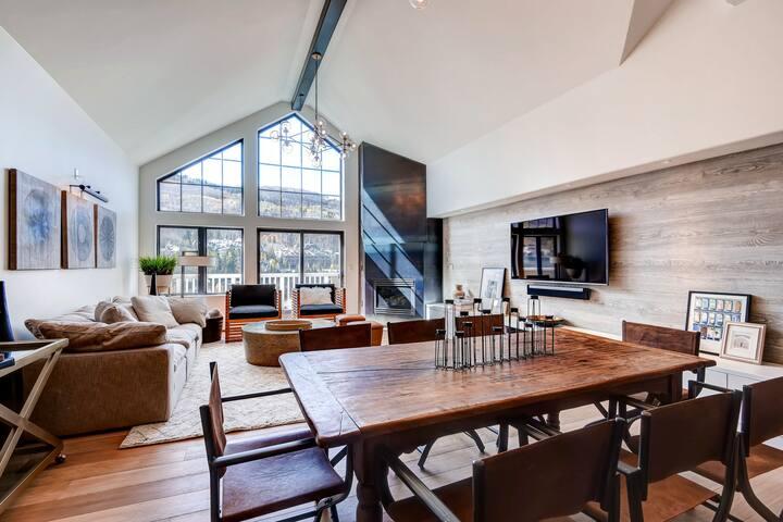 Modern-Mountain Luxury 3Br St James Penthouse