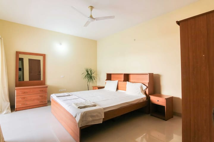 Cozy 2BHK orchid suite at Varca