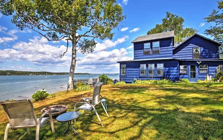 3BR Atlantic Blue Cottage in Harpswell! - Brunswick - Annat