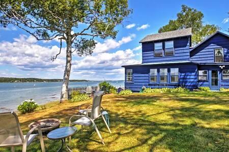 3BR Atlantic Blue Cottage in Harpswell! - Brunswick