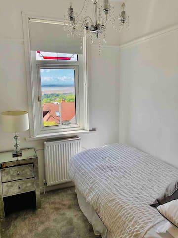 Bedroom 4 - single - fabulous view